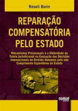 Capa do livro: Reparação Compensatória pelo Estado, Roseli Borin