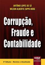 Capa do livro: Corrupção, Fraude e Contabilidade, Antônio Lopes de Sá e Wilson Alberto Zappa Hoog