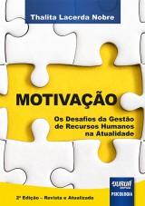 Capa do livro: Motivação, Thalita Lacerda Nobre