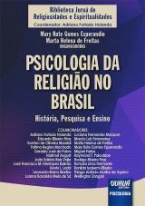 Capa do livro: Psicologia da Religião no Brasil, Organizadoras: Mary Rute Gomes Esperandio e Marta Helena de Freitas