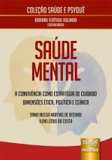 Capa do livro: Saúde Mental, Tania Inessa Martins de Resende e Ileno Izídio da Costa