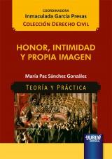 Capa do livro: Honor, Intimidad y Propia Imagen, María Paz Sánchez González