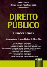 Capa do livro: Direito Público, Coordenadores: Juarez Freitas e Renato Saeger Magalhães Costa