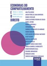 Capa do livro: Economias do Compartilhamento e o Direito, Organizadores: Rafael A. F. Zanatta, Pedro C. B. de Paula e Beatriz Kira