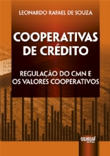 Capa do livro: Cooperativas de Crédito, Leonardo Rafael de Souza