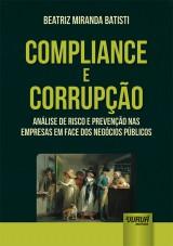 Capa do livro: Compliance e Corrupção, Beatriz Miranda Batisti
