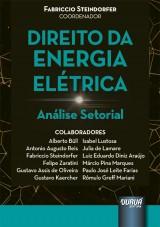 Capa do livro: Direito da Energia Elétrica, Coordenador: Fabriccio Steindorfer