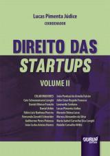 Capa do livro: Direito das Startups - Volume II, Coordenador: Lucas Pimenta Júdice