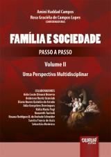 Capa do livro: Família e Sociedade - Passo a Passo - Volume II, Coordenadoras: Amini Haddad Campos e Rosa Graciéla de Campos Lopes