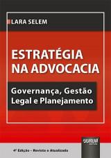 Capa do livro: Estratégia na Advocacia, Lara Selem