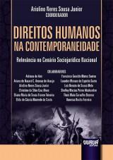 Capa do livro: Direitos Humanos na Contemporaneidade, Coordenador: Ariolino Neres Sousa Junior