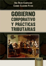 Capa do livro: Gobierno Corporativo y Prácticas Tributarias, Ana Belén Campuzano e Carmen Calderón Patier