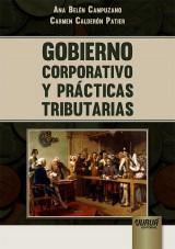 Capa do livro: Gobierno Corporativo y Prácticas Tributarias, Ana Belén Campuzanoe  Carmen Calderón Patier