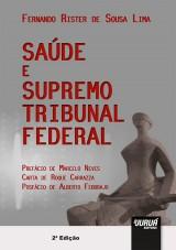 Capa do livro: Saúde e Supremo Tribunal Federal, Fernando Rister de Sousa Lima