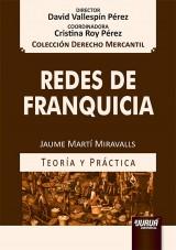 Capa do livro: Redes de Franquicia, Jaume Martí Miravalls