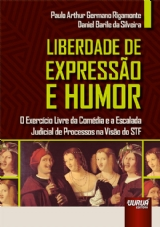 Capa do livro: Liberdade de Expressão e Humor, Paulo Arthur Germano Rigamonte e Daniel Barile da Silveira