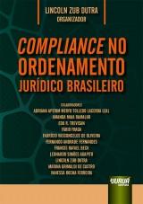 Capa do livro: Compliance no Ordenamento Jurídico Brasileiro, Organizador: Lincoln Zub Dutra