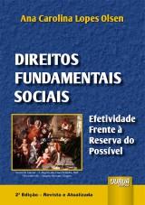 Capa do livro: Direitos Fundamentais Sociais, Ana Carolina Lopes Olsen