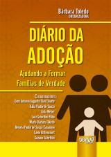 Capa do livro: Diário da Adoção, Organizadora: Bárbara Toledo
