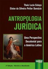 Capa do livro: Antropologia Jurídica, Thais Luzia Colaço e Eloise da Silveira Petter Damázio