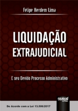 Capa do livro: Liquidação Extrajudicial, Felipe Herdem Lima
