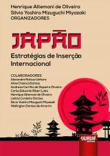 Capa do livro: Japão, Organizadores: Henrique Altemani de Oliveira e Silvio Yoshiro Mizuguchi Miyazaki