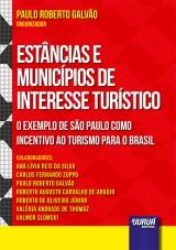 Capa do livro: Estâncias e Municípios de Interesse Turístico, Organizador: Paulo Roberto Galvão