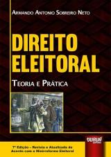 Capa do livro: Direito Eleitoral, Armando Antonio Sobreiro Neto