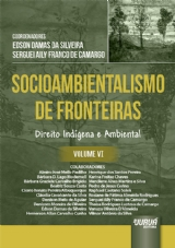 Capa do livro: Socioambientalismo de Fronteiras - Volume VI, Coordenadores: Edson Damas da Silveira e Serguei Aily Franco de Camargo