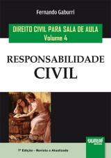 Capa do livro: Direito Civil para Sala de Aula - Volume 4, Fernando Gaburri