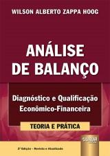 Capa do livro: Análise de Balanço, Wilson Alberto Zappa Hoog