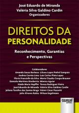 Capa do livro: Direitos da Personalidade, Organizadores: José Eduardo de Miranda e Valéria Silva Galdino Cardin