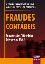 Capa do livro: Fraudes Contábeis, Alexandre Alcantara da Silva e Anderson Freitas de Cerqueira