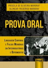 Capa do livro: Prova Oral, Priscila de Oliveira Margraf e Alencar Frederico Margraf