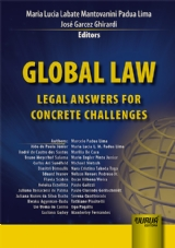 Capa do livro: Global Law, Editors: Maria Lucia Labate Mantovanini Padua Lima e José Garcez Ghirardi