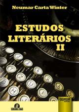Capa do livro: Estudos Literários II, Neumar Carta Winter