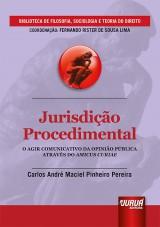 Capa do livro: Jurisdição Procedimental, Carlos André Maciel Pinheiro Pereira