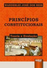Capa do livro: Princípios Constitucionais, Wanderlei José dos Reis