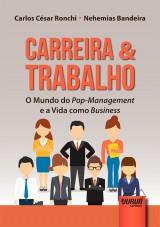 Capa do livro: Carreira & Trabalho, Carlos César Ronchi e Nehemias Bandeira