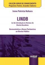 Capa do livro: LINDB - Lei de Introdução às Normas do Direito Brasileir - Minibook, Irene Patrícia Nohara