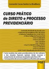 Capa do livro: Curso Prático de Direito e Processo Previdenciário, Leonardo Cacau Santos La Bradbury