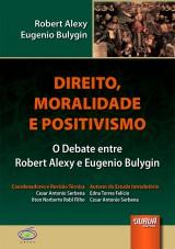 Capa do livro: Direito, Moralidade e Positivismo, Robert Alexy e Eugenio Bulygin