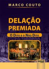 Capa do livro: Delação Premiada, Marco Couto