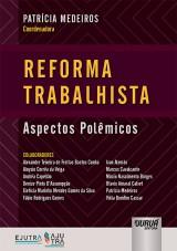 Capa do livro: Reforma Trabalhista, Coordenadora: Patrícia Medeiros