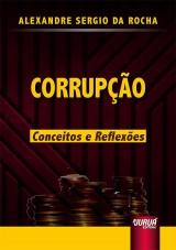 Capa do livro: Corrupção, Alexandre Sergio da Rocha