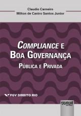 Capa do livro: Compliance e Boa Governança, Claudio Carneiro e Milton de Castro Santos Junior