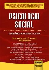 Capa do livro: Psicologia Social, Organizadora: Ana Maria Jacó-Vilela