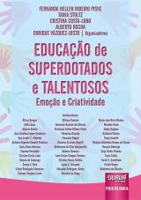 Capa do livro: Educação de Superdotados e Talentosos, Organizadores: Fernanda Hellen Ribeiro Piske, Tania Stoltz, Cristina Costa-Lobo, Alberto Rocha e Enrique Vásquez-Justo