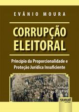 Capa do livro: Corrupção Eleitoral, Evânio Moura