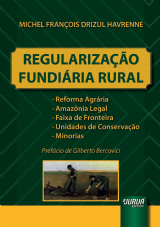Capa do livro: Regularização Fundiária Rural, Michel François Drizul Havrenne